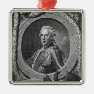Portrait of Prince Henry of Prussia , 1779 Metal Ornament