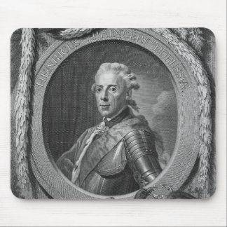 Portrait of Prince Henry of Prussia , 1779 Mouse Pad