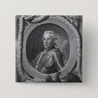 Portrait of Prince Henry of Prussia , 1779 Pinback Button
