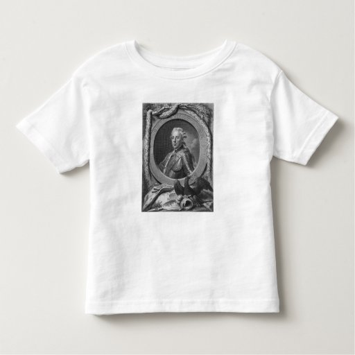 Portrait of Prince Henry of Prussia , 1779 Toddler T-shirt