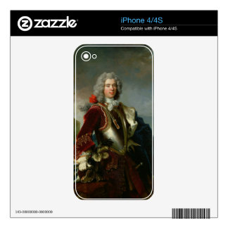 Portrait of Prince Jacques 1er Grimaldi (oil on ca Decals For The iPhone 4