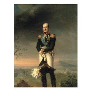 Portrait of Prince Mikhail Barclay de Tolly Postcard