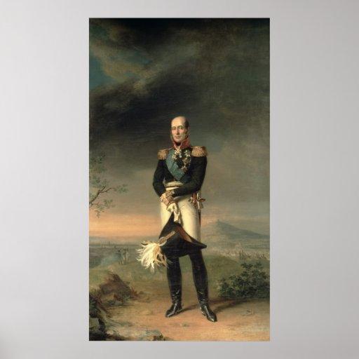 Portrait of Prince Mikhail Barclay de Tolly Poster