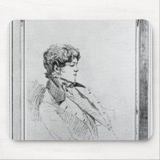 Portrait of Prince Otto von Bismarck, 1834 Mouse Pad
