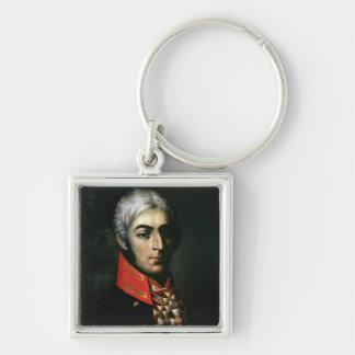 Portrait of Prince Peter Bagration Keychain