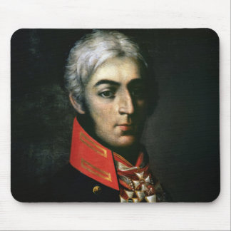 Portrait of Prince Peter Bagration Mouse Pad