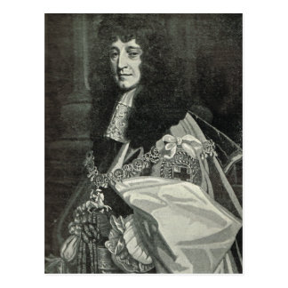 Portrait of Prince Rupert of the Rhine Postcard