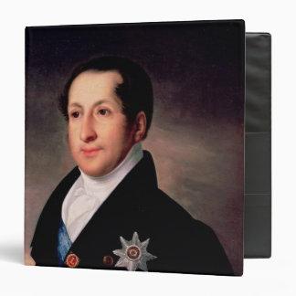Portrait of Prince Sergej Golitsyn , post 1828 Binder
