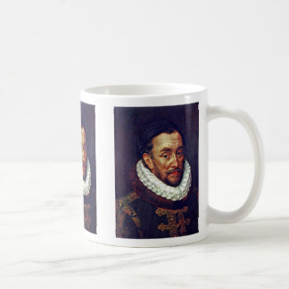Portrait Of Prince William Of Orange Classic White Coffee Mug