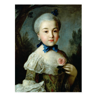 Portrait of Princess Charlotte Sophia Postcard