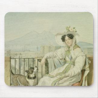 Portrait of Princess Natalia Golitsin, 1822-26 Mouse Pad