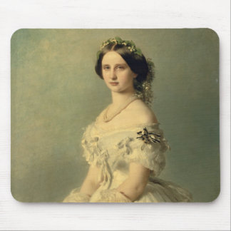 Portrait of Princess of Baden, 1856 Mouse Pad