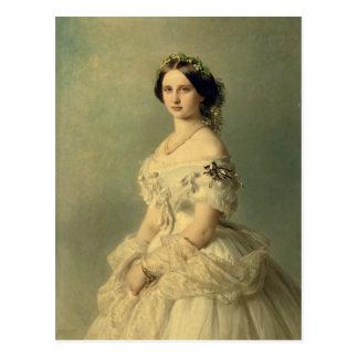 Portrait of Princess of Baden, 1856 Postcard