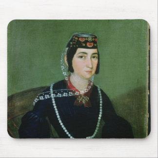 Portrait of Princess Salome Chavchavadze Mouse Pad