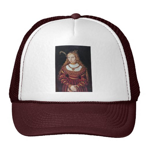 Portrait Of Princess Sybille Of Cleves As A Bride Trucker Hat
