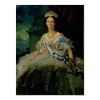 Portrait of Princess Tatiana Alexanrovna Poster