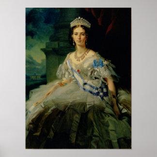 Portrait of Princess Tatiana Alexanrovna Poster