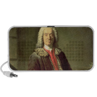 Portrait of Prosper Jolyot de Crebillon , 1746 Portable Speaker