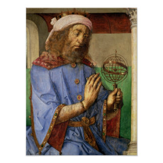 Portrait of Ptolemy, c.1475 Print