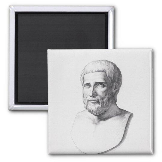 Portrait of Pythagoras Magnet