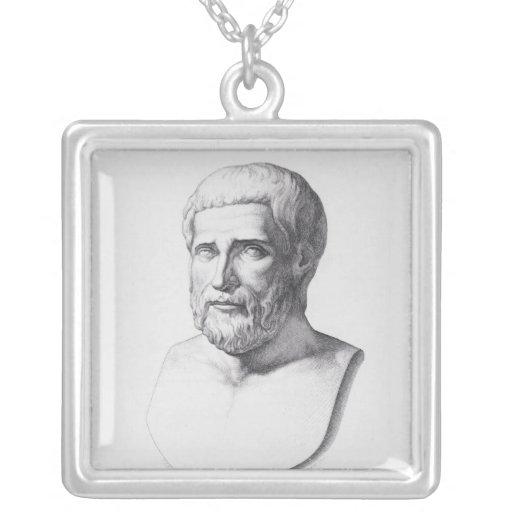 Portrait of Pythagoras Pendant