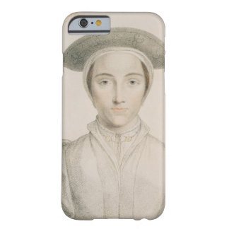 Portrait of Queen Anne of Cleves (1515-57) engrave Barely There iPhone 6 Case