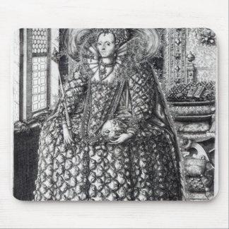 Portrait of Queen Elizabeth I Mousepad