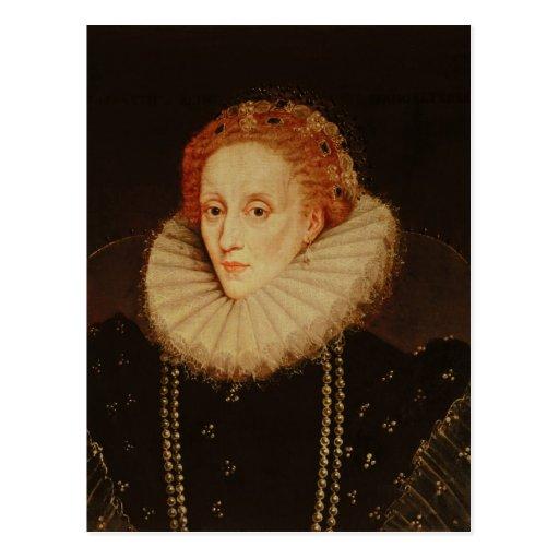 Portrait of Queen Elizabeth I Post Card