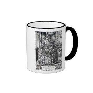 Portrait of Queen Elizabeth I Ringer Mug