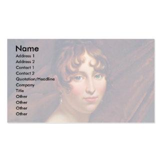 Portrait Of Queen Hortense Business Cards