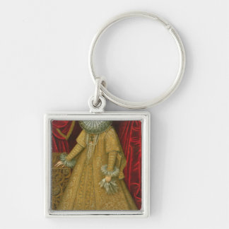 Portrait of Queen Isabel Clara Eugenia Keychain