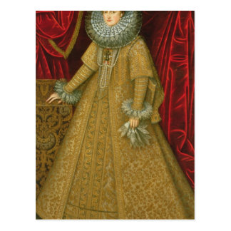 Portrait of Queen Isabel Clara Eugenia Postcard