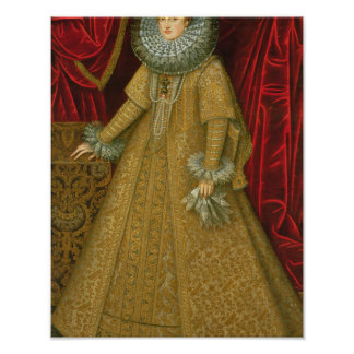 Portrait of Queen Isabel Clara Eugenia Poster