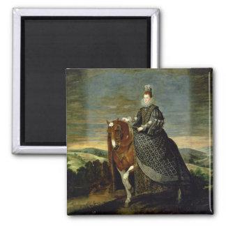 Portrait of Queen Margaret of Austria  1629-35 Magnet