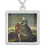 Portrait of Queen Margaret of Austria  1629-35 Jewelry