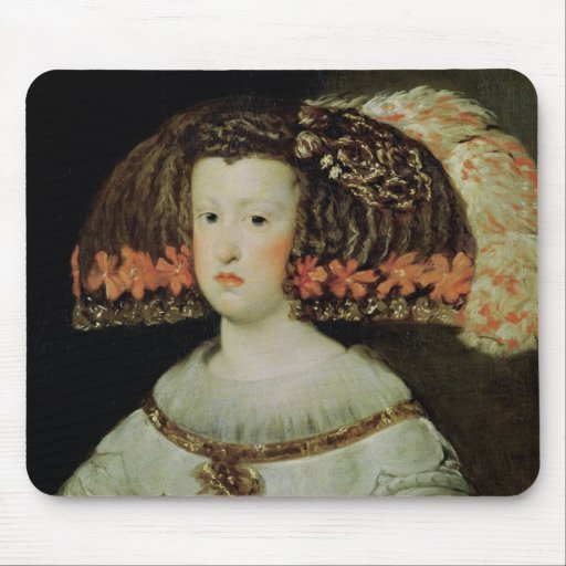 Portrait of Queen Maria Anna  of Spain Mouse Pad