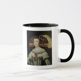 Portrait of Queen Maria Anna  of Spain Mug