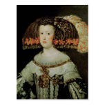 Portrait of Queen Maria Anna  of Spain Postcard