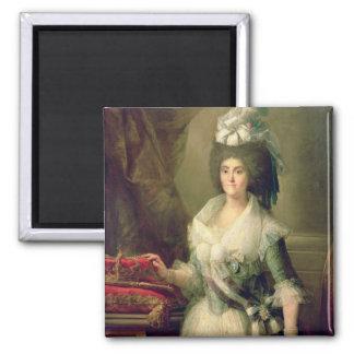 Portrait of Queen Maria Luisa Magnet
