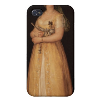 Portrait of Queen Maria Luisa  wife of King iPhone 4/4S Covers