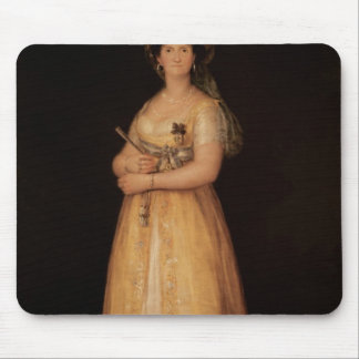 Portrait of Queen Maria Luisa  wife of King Mouse Pad