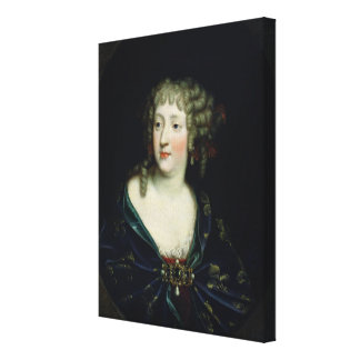 Portrait of Queen Marie-Therese of France Canvas Print