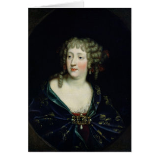 Portrait of Queen Marie-Therese of France Card