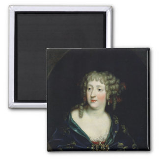 Portrait of Queen Marie-Therese of France Fridge Magnets