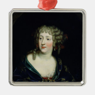 Portrait of Queen Marie-Therese of France Metal Ornament