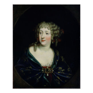 Portrait of Queen Marie-Therese of France Poster