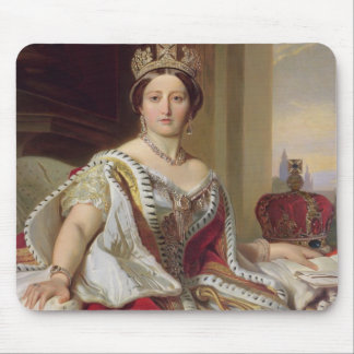Portrait of Queen Victoria 1819-1901 1859 oil o Mouse Pads
