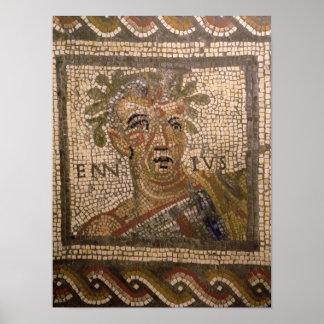 Portrait of Quintus Ennius Posters