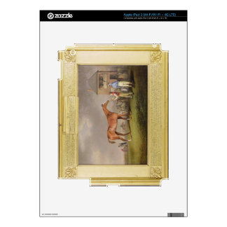 Portrait of 'Quiz', the property of Lord Rous, aft Decal For iPad 3