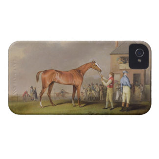Portrait of 'Quiz', the property of Lord Rous, aft iPhone 4 Case